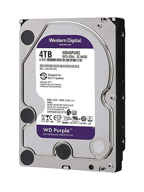 """Hdd 3.5"""" Wd Purple 4tb Sata3 IntelliPower"""