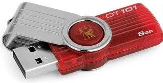 Kingston DataTraveler 101 G2 - Unidad flash USB - 8 GB