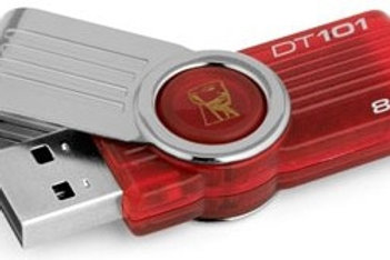 Kingston DataTraveler 101 G2 - Unidad flash USB - 8 GB