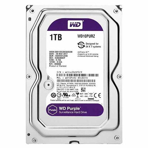 """Hdd 3.5"""" Wd Purple 1tb Sata3 IntelliPower Rpm"""