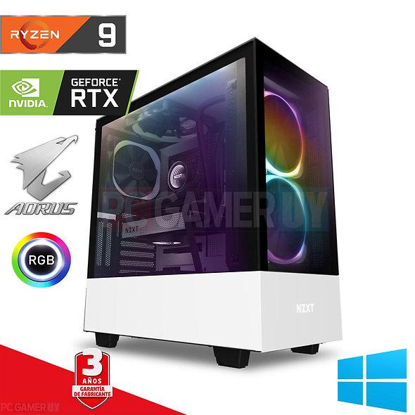 PCGAMER Ryzen 9 3950x RTX 2080 32GB RAM M z570 nvme 1tb+1tb...