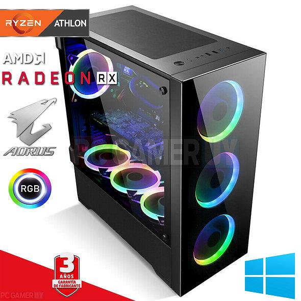 PCGAMER AMD 3000G + RADEON RX