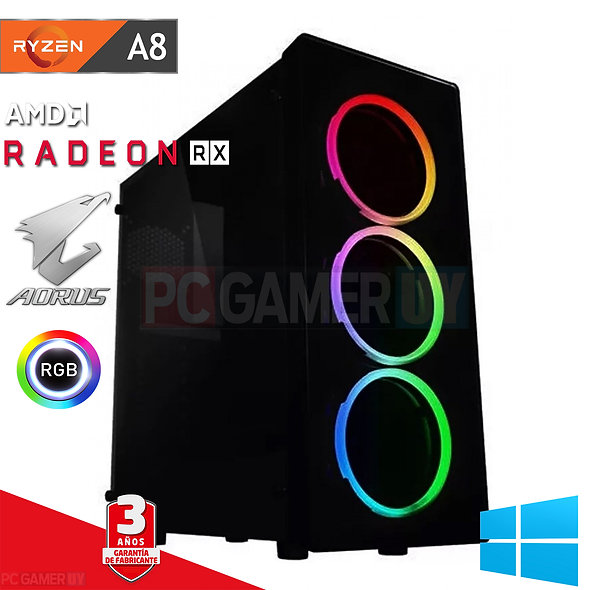 PCGAMER AMD A8 RADEON
