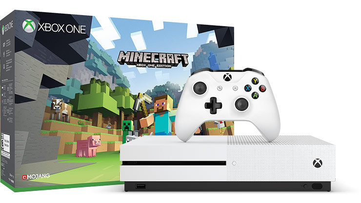 Consola XBOX ONE Slim 500GB Minecraft 220v