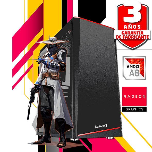 PC AMD A8 16 GB RADEON SSD
