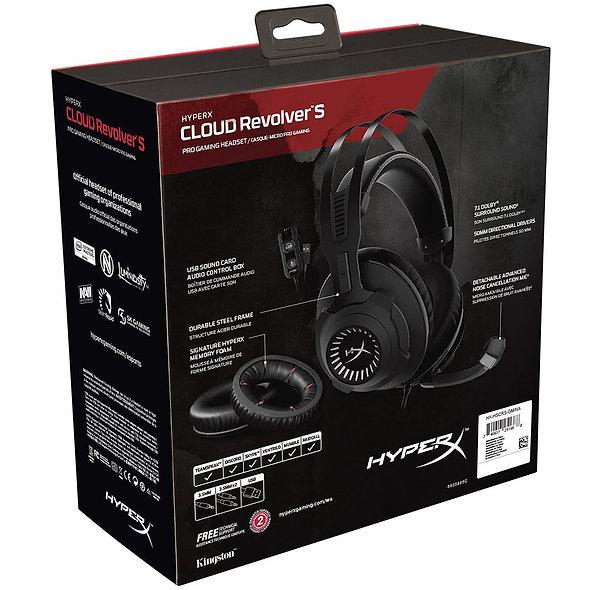 Auricular HyperX Cloud Revolver S