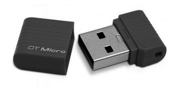 Kingston DataTraveler Micro - Unidad flash USB - 8 GB