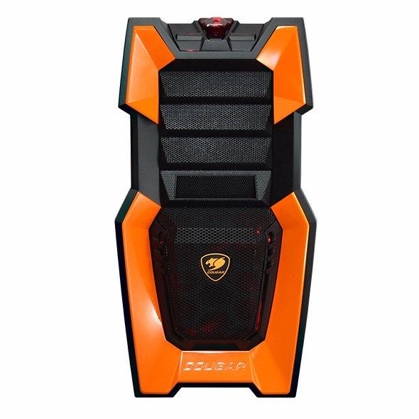 Gabinete Cougar Challenger Naranja