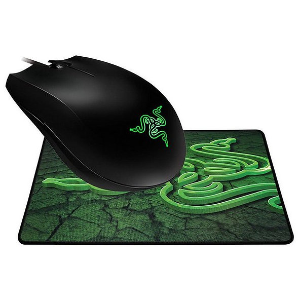 Combo Mouse Abyssus Y Mousepad Goliathus