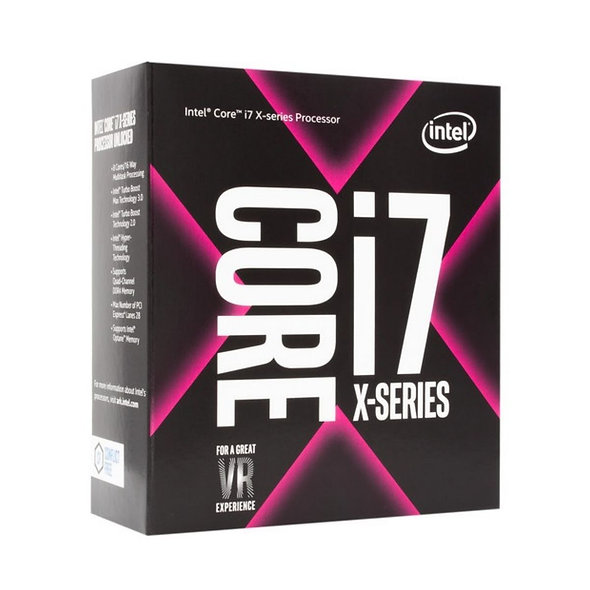 Cpu Intel Core I7 7800x 2066 X-series Box S/fan