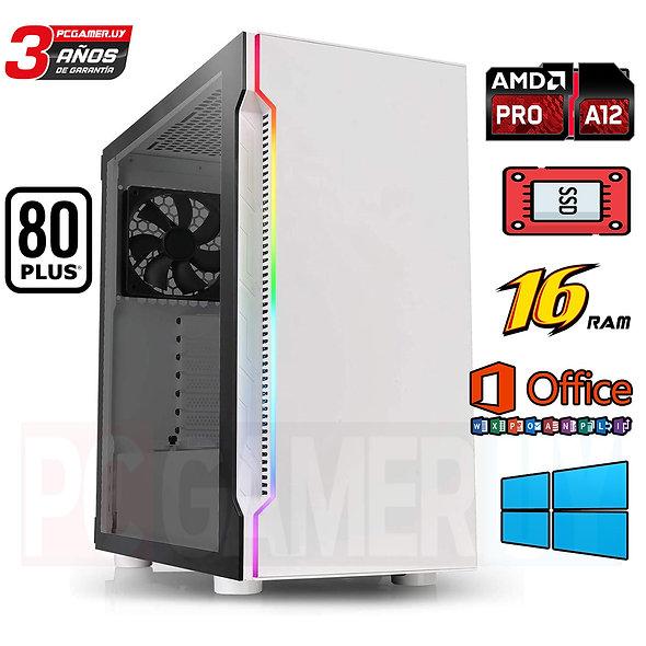 PCGAMER AMD 16GB DDR4 F80 PLUS RGB