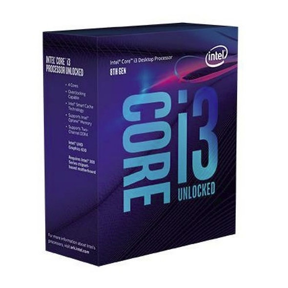 Cpu Intel Core I3 8100