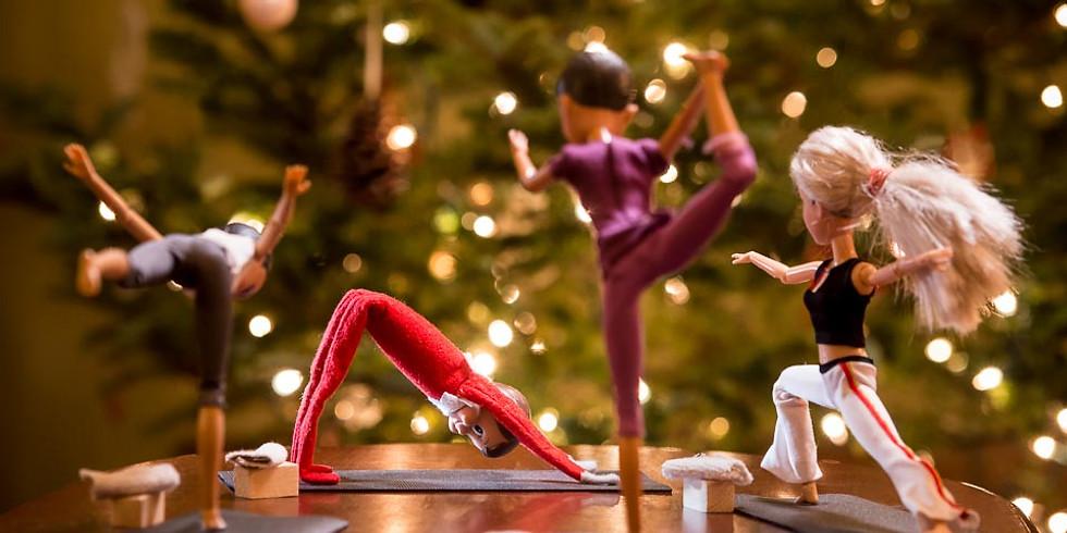 Festive Yoga Party