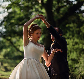 Wedding dance lessons in Malvern with Fl
