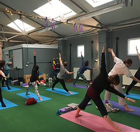 Yoga classes in Malvern with FloFitness