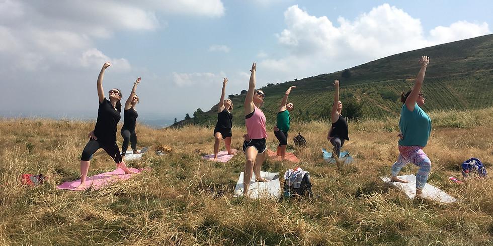 Yoga up the Hills
