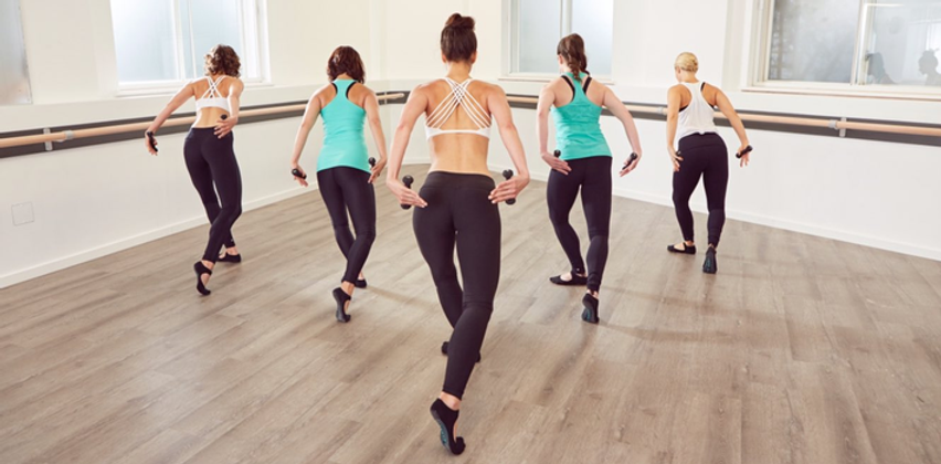 Barre Fitness classes in Malvern with FloFitness