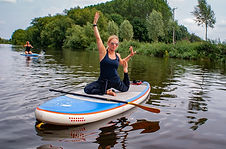 SUP Yoga in Pershore with FloFitness