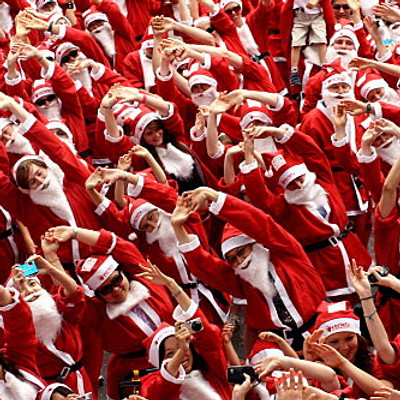 Christmas Yoga Class