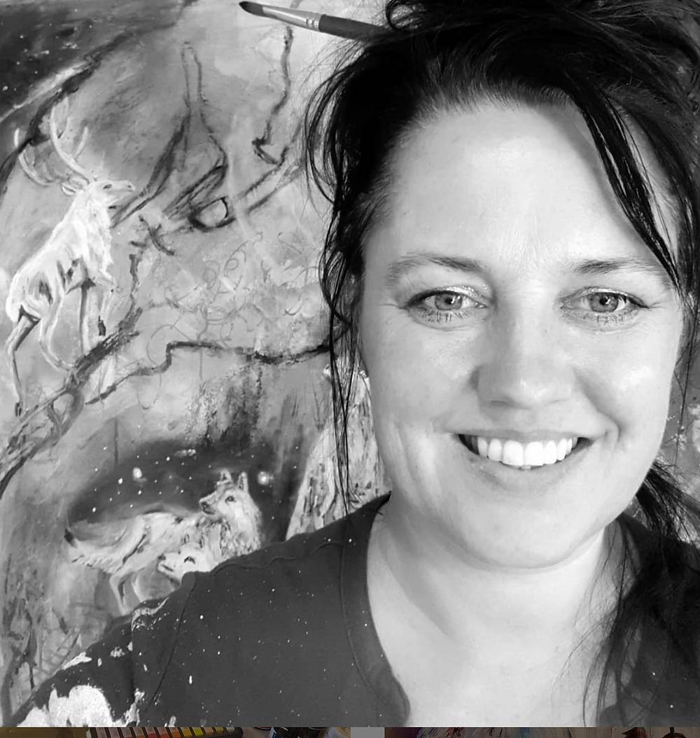 Fine artist Denmark Pia Mikkelsen