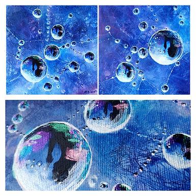 Upside down bubbles