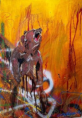 Grizzly Graffitti
