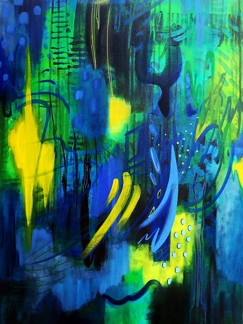 Blue Depth - trust in your inner wisdom