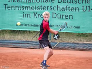 Zwei deutsche Tennistalente noch im Rennen