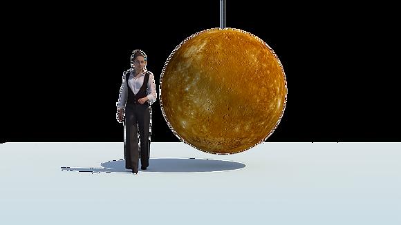 Inflatable Planet - Mercury