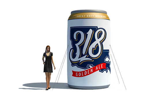 Inflatable Can - 12oz