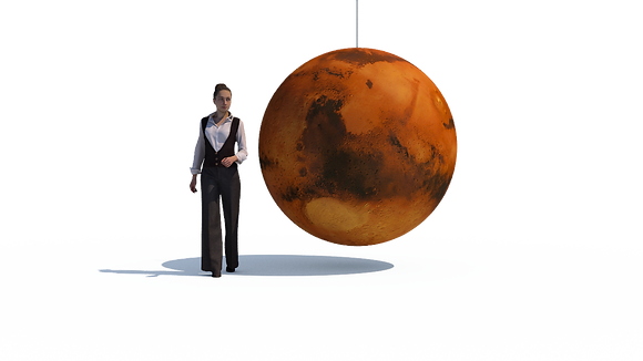 Inflatable Planet - Mars