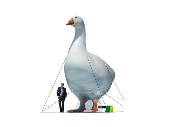 Inflatable Goose