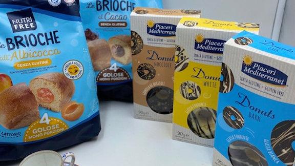 Brioche glutenfrei und lactosefrei, Donuts glutenfrei.