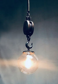 Winch Hook Pendant by Omega Lighting & Design
