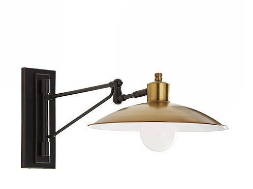 The Nox adjustable wall sconce