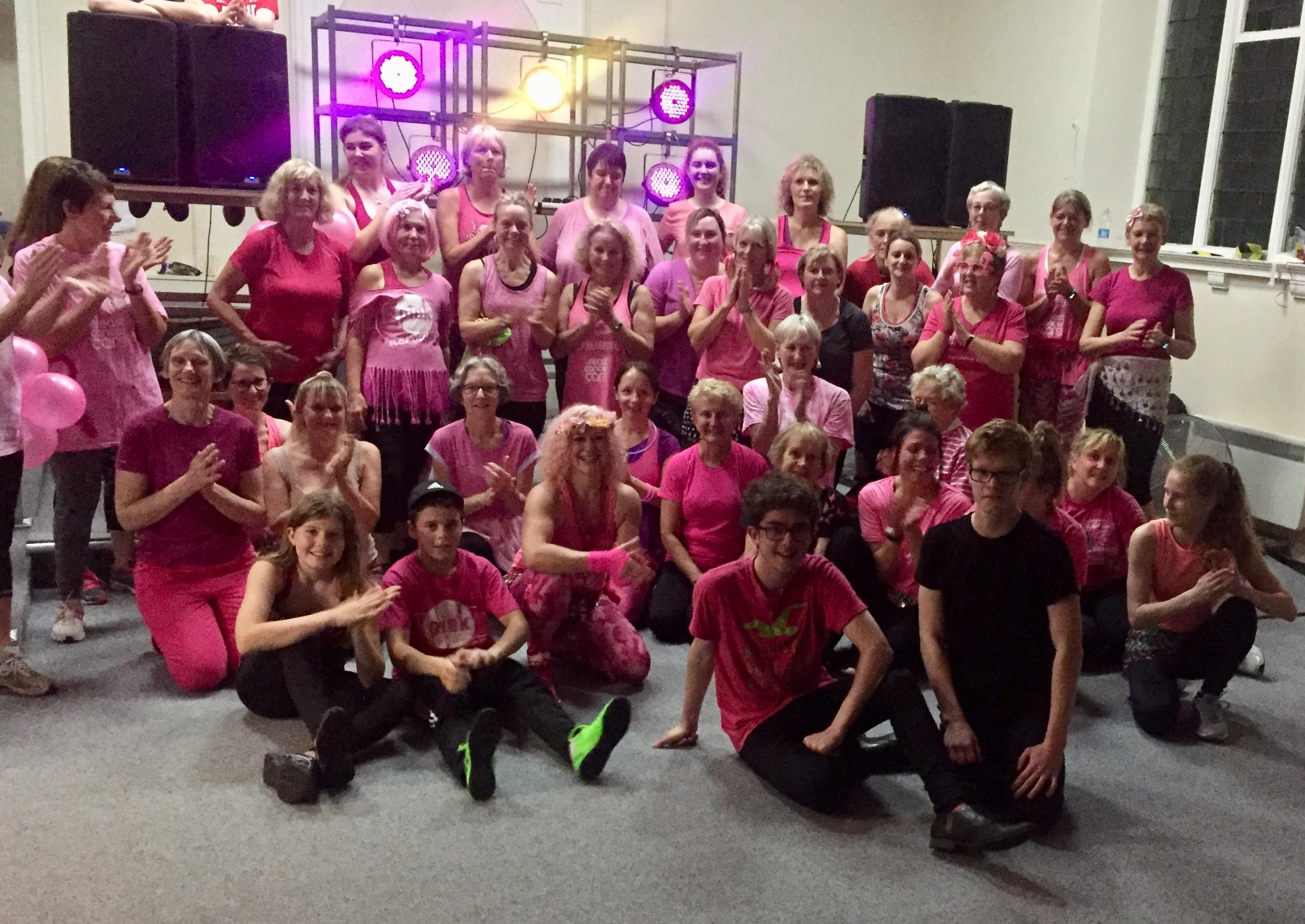 Annual Pink Aerobics at M:HUB
