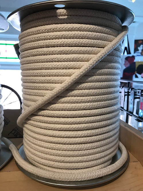 10mm Macrame Cord- 500 feet, braided