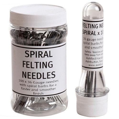 Felting Needle- Spiral (1 needle)