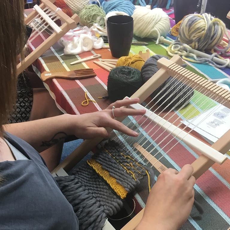 Frame Loom Weaving (June 19, $75)