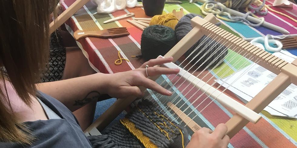 Frame Loom Weaving (Saturday, March 13, $75)