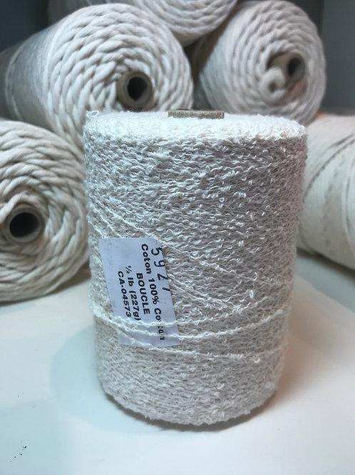 Boucle cotton- natural