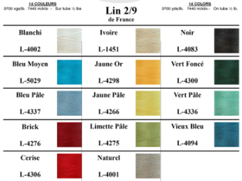9/2 Linen- From France