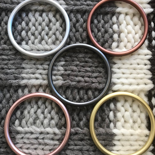 Rings for macrame