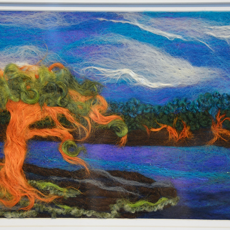 Needle Felted Tapestries  (October 16, $65)