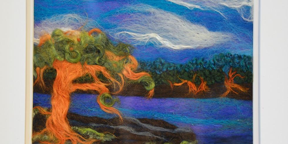 Needle Felted Tapestries  (Saturday, Dec 18, $65)
