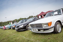 Bromley Pageant classic car show clubs one make parking