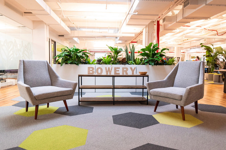 Office buildings cater to small tenants that outgrow co-working spaces