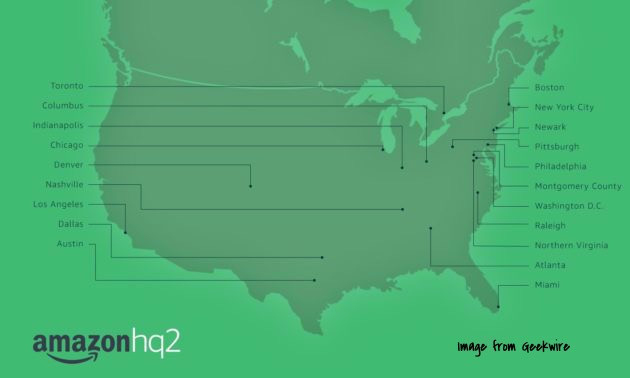 Amazon HQ@ - NYC Makes the top cut
