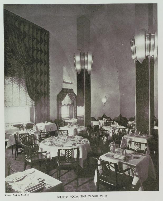 Cloud Club Dining Room