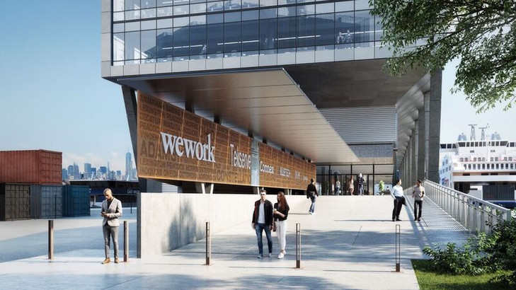 New Renderings for Dock 72, New Home for WeWork Brokered by LegacyNY